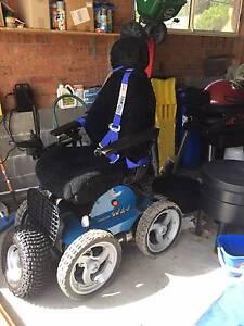 Aussie Bush 4x4 All Terrain Electric Wheelchair & Beach Wheels Valentine Lake Macquarie Area Preview