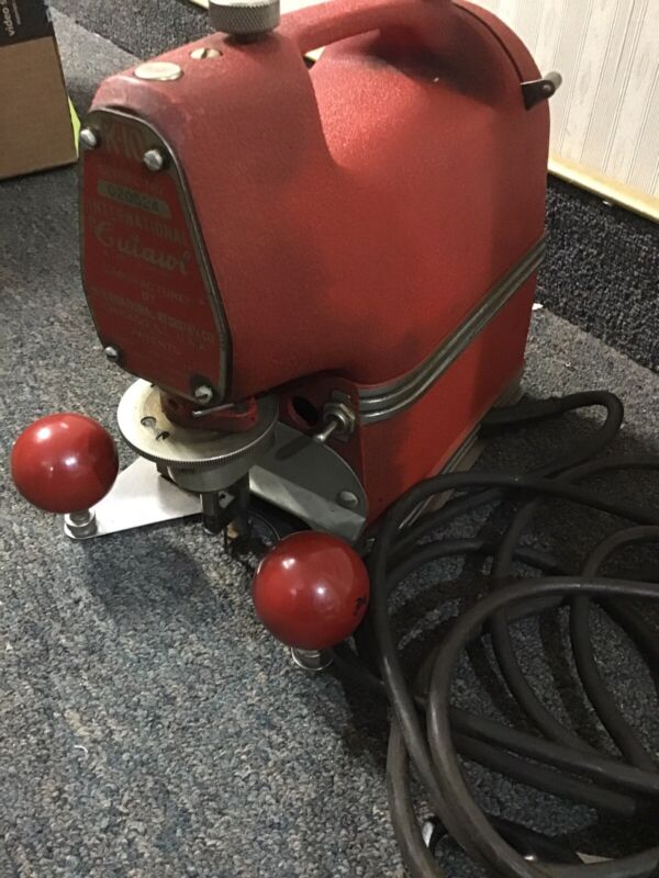 Vintage CUTAWL K-10 PORTABLE PRECISION SIGN AND LETTER CUTTING MACHINE SAW