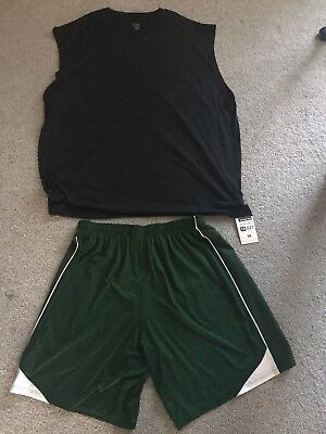 'THE BLIND SIDE' QUINTON AARON SCREEN USED MICHAEL OHER SPORTS SHIRT AND SHORTS