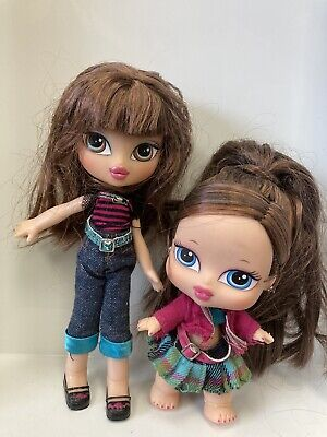 BRATZ SISTERZ LILANI and KIANI wearing original clothes (Kidz)