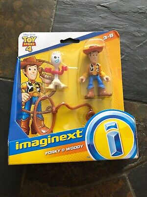 Imaginext Toy Story 4 Forky & Woody 2-Figure Set