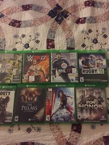 VARIETY OF XBOX 1 GAMES!!!! SOME SOLD!!!!! CHECK OUT AD!!!
