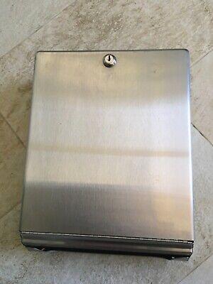 Bobrick Foldmultifold Paper Towel Dispenser Stainless Steel Holds 400 C-folds