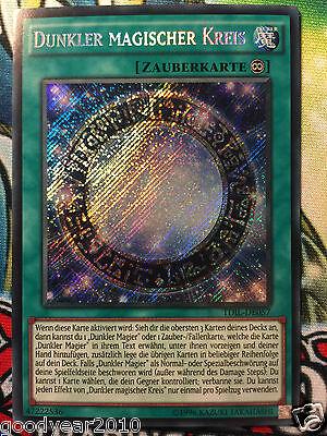 YU-GI-OH DUNKLER MAGISCHER KREIS TDIL-DE057 SEC DE.NM  1oder 2.AUFL