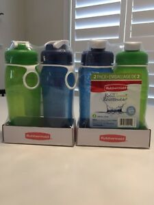 Rubbermaid water bottles