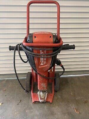 Hilti Te 3000-avr Jack Hammer Demo Demolition Hammer 120v Wcart 4 Bits