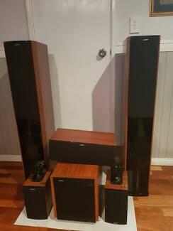 Jamo S606, Sub 250 Home Theatre Speaker Pack (RRP $2,499)