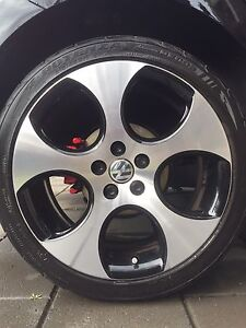 """Volkswagen GTI 17"""" Wheels and Tyres Adelaide CBD Adelaide City Preview"""