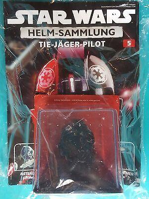 Star Wars Helm-Sammlung Nr.5   Tie - Jäger - Pilot   OVP