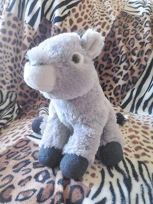 """Wild Republic Cuddlekins 12"""" Baby Donkey Mule plush stuffed"""