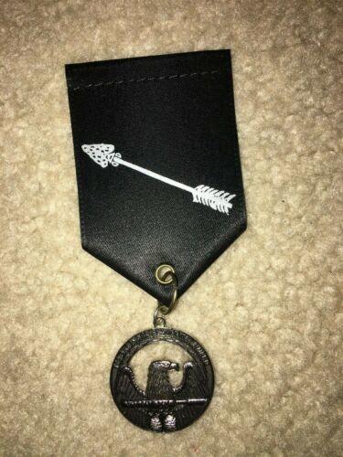 Boy Scout Detroit Michigan Migisi Opawgan OA 162 Order Arrow Elangomat Medal
