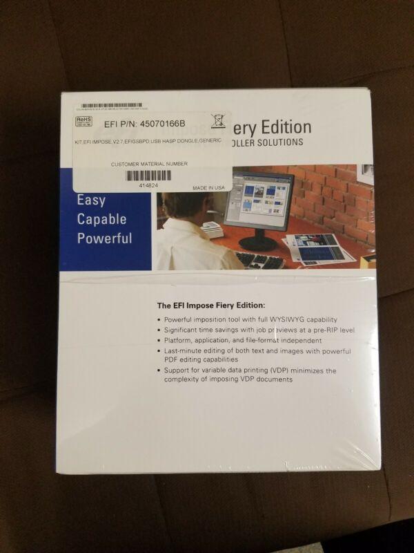 EFI Impose Fiery Edition Advanced Controller Interface Kit USB dongle 45070166B
