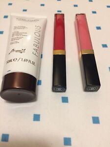 Brand new - Chanel lipglosses and Vita Liberata tanning lotion