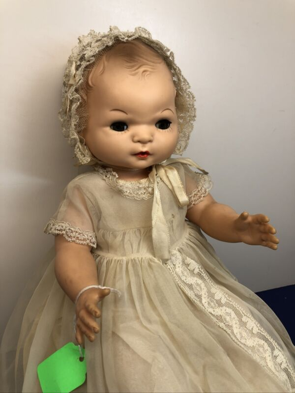 """15"""" Vintage All Original Baby Doll Am.Character Face Vinyl Jointed Marked 63 #BD"""