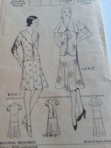 Antique Sewing Pattern- Ladies Dress #5174