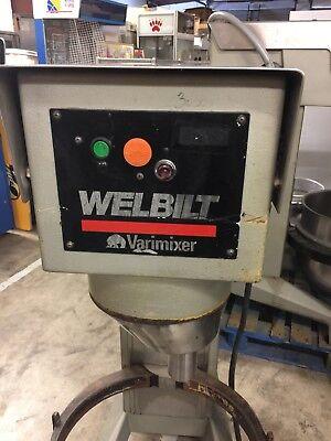 Welbilt Varimixer W60 60qt Dough Mixer