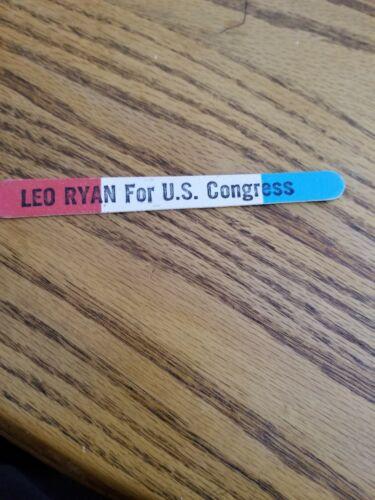 leo ryan campaign Nail File
