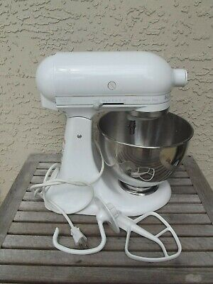 Kitchen Aid Ultra Power Plus 300 - 4.5 qt Mixer 10 speed VGC lite used Free Ship
