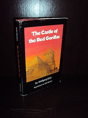 The Castle of the Red Gorillas by Wolfgang Ecke 1983 First Edition HCDJ Prentice