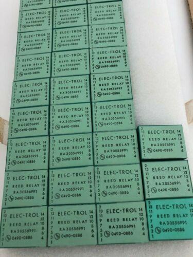 Unused NOS ELEC-TROL INC Reed Relay RA30556991 HP 0490-0866