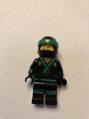 Lego Movie Ninjago Lloyd Minifigure with ninja hood Green Collector