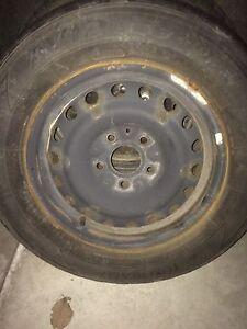 """1 steel rim (16""""; bolt pattern 5x127)"""