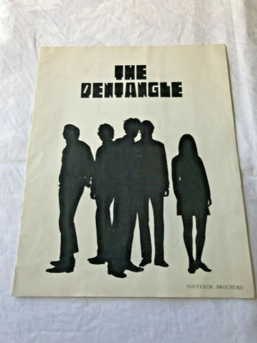The Pentangle 1968 Tour Programme