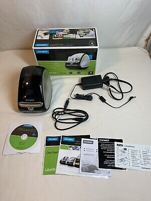 Dymo Labelwriter 450 Turbo Monochrome Direct Thermal Label Printer Complete