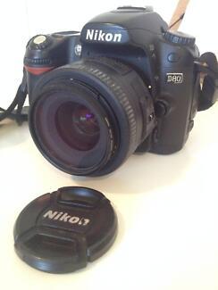 Nikon D80 DSLR +2 Lenses+ ThinkTank Bag+Acc