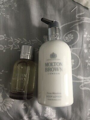 Unwanted Gift Molton Brown Rosa Absolute Body Lotion And Eau De Toilette 50ml