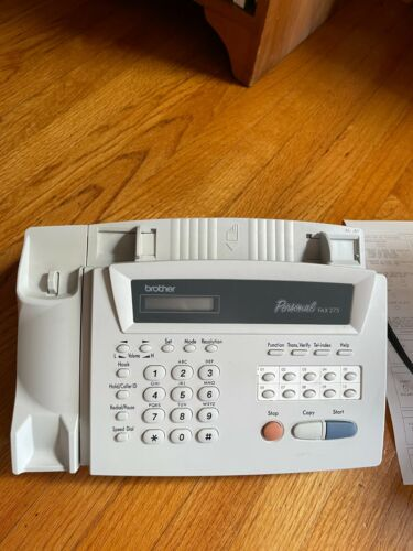 Brother Personal FAX-275 with box