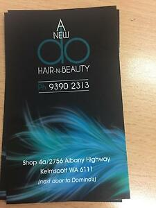 A new do hair n beauty Kelmscott Armadale Area Preview