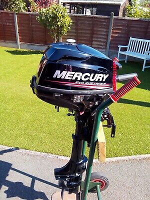 Mercury 3.5 HP Four Stroke Outboard, short shaft.