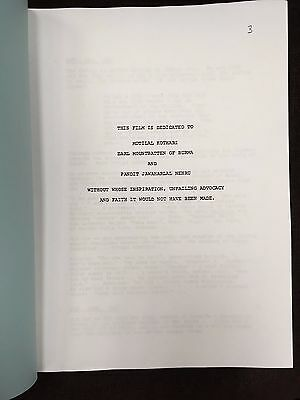 GANDHI Oscar Winning Screenplay Ben Kingsley, John Gielgud, Richard Attenborough