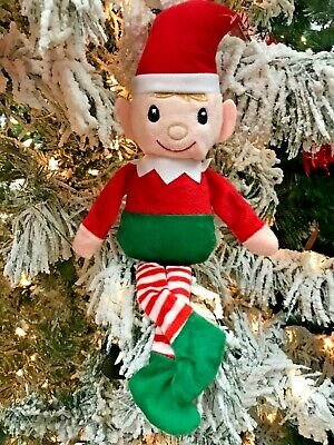 Christmas Elf Plush Stuffed Toy Boy OR Girl! Shelf Elf ...ship 50¢ after 1st -