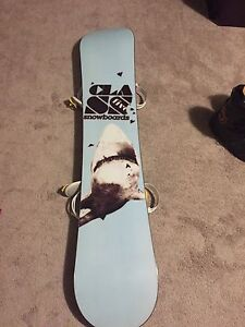 One of a kind hand made class five snowboard
