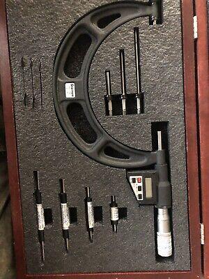 Startett 714 Electronic Lcd Anvil Micrometer 2-6