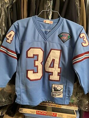 Ness Houston Oilers - Mitchell & Ness Boys Houston Oilers Jersey Sz. Large