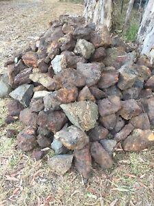 Trailer loads of garden rocks!!!