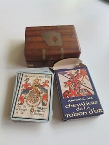 15th CENTURY KNIGHTS ILLUSTRATED PLAYING CARDS