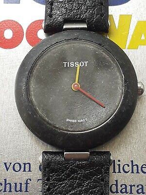 Unisex Tissot Rockwatch / Rock Watch in classic black