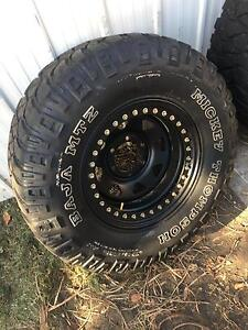 "33"" Mickey Thompson Baja on genuine beadlock rims Redhead Lake Macquarie Area Preview"