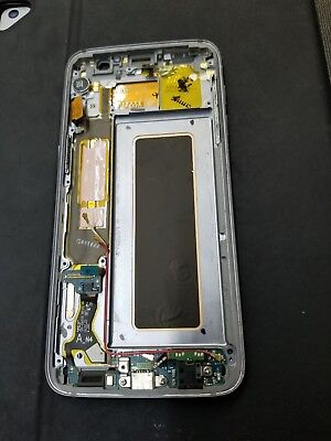 For Samsung Galaxy S7/S7 Edge Housing Middle Front Frame Bezel Chassis Assembly Middle Housing Assembly
