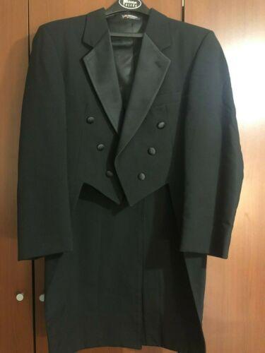 SET Tuxedo Dress Tux Tail Tailcoat Formal Wedding Jacket Coat Suits Black White