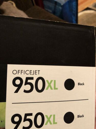 HP Genuine 950XL Black Ink OFFICEJET PRO 8600 8610 8620 8625 NEW NO Box  - $15.00
