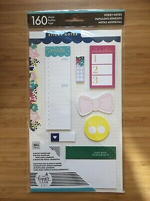 Mambi Happy Planner Happy Planner Girl Socialite Sticky Notes