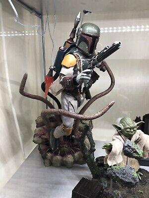 Hot Toys Boba Fett Deluxe 1:6 Star Wars Return Of The Jedi. The Mandalorian.