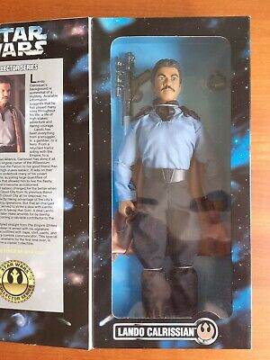 "Star Wars Collector Series Lando Calrissian 1996 Kenner 12"" Figure - Vintage"