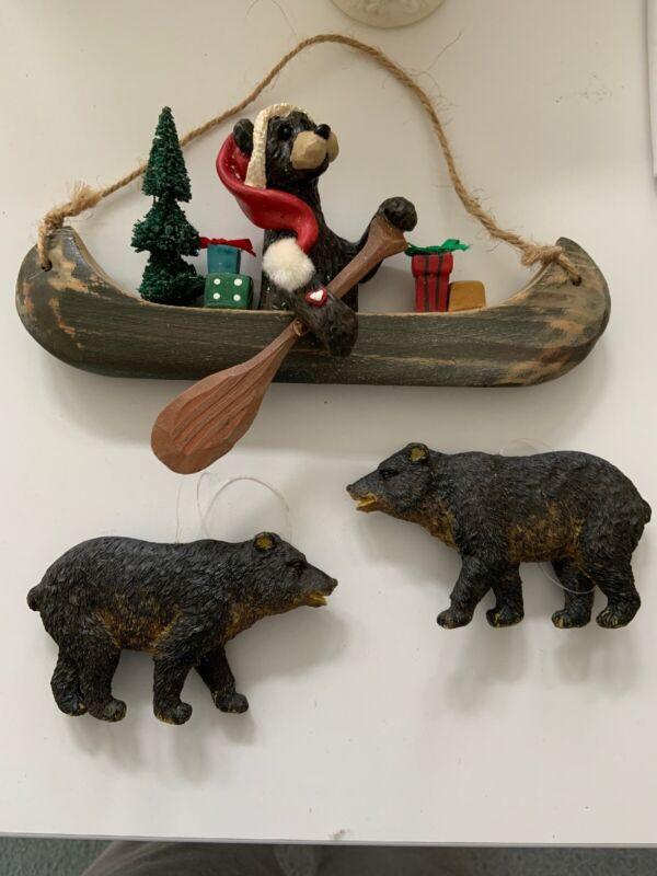 bear christmas ornaments