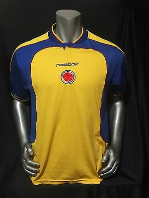 Colombia home soccer jersey Copa America 2001 size S image